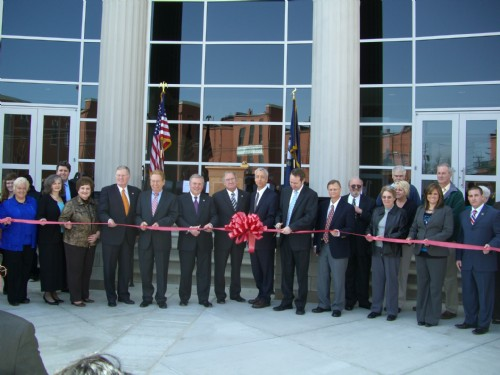 garrard county justice center ribbon cutting