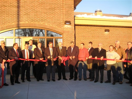 Russell County Detention Center Ribbon Cutting