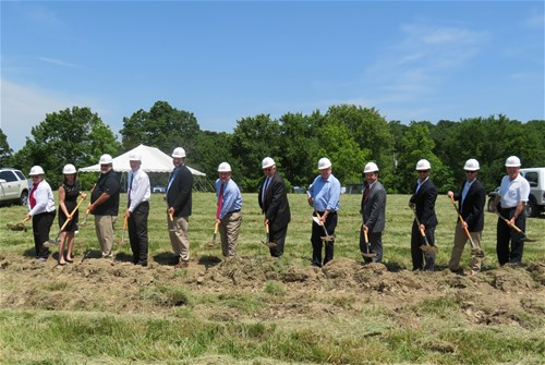 metcalfe county industrial spec building groundbreaking