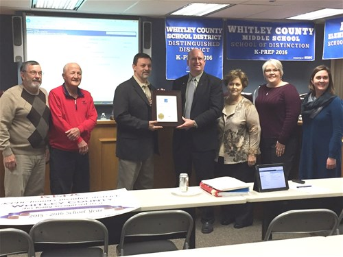 pleasant view elementary receives energy star award